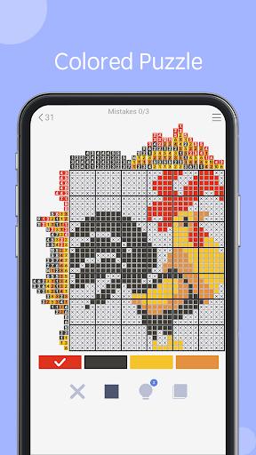 Nonogram - picture cross puzzle game filehippodl screenshot 3