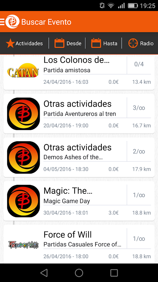 Busca Player- screenshot