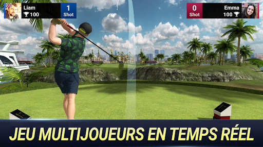 Code Triche Roi du Golf u2013 Tournu00e9e mondiale APK MOD screenshots 1
