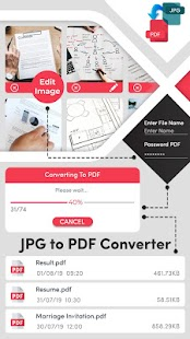 JPG to PDF Converter Free Screenshot