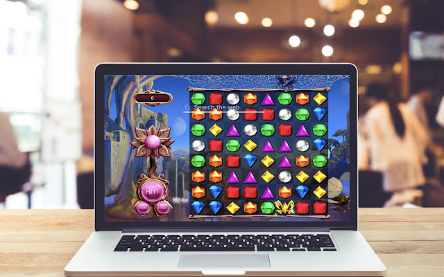 Bejeweled HD Wallpapers Game Theme