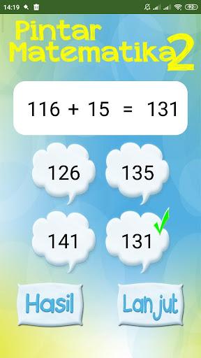 Pintar Cerdas Matematika 2 1.6 screenshots 3
