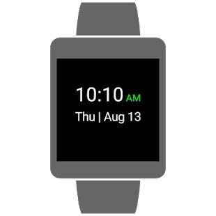 Simplistic Watch Face- screenshot thumbnail