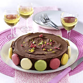 Chocolate Macaroon Cake.