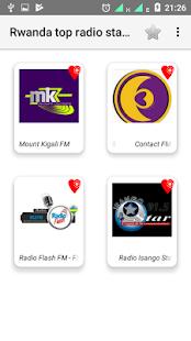 Rwanda top radio stations - náhled