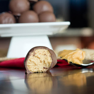 Peanut Butter Chocolate Balls.