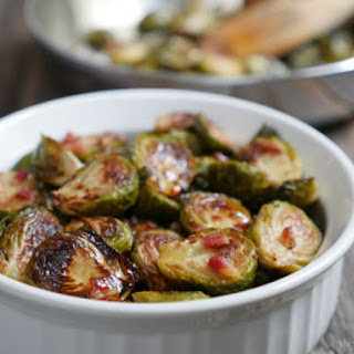 Roasted Brussels Sprouts with Apple Cider Glaze