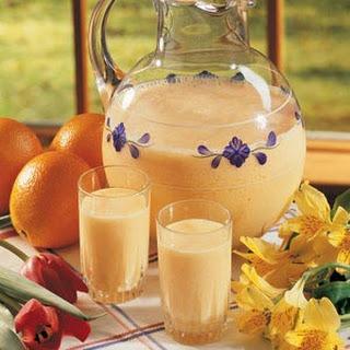 Breakfast Drink Orange Recipes