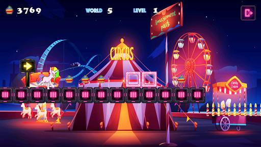 Unicorn Dash Neon Lights: Unicorn Games screenshots 5
