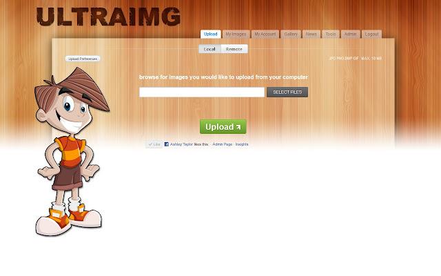UltraIMG - Image Hosting Screenshot Capture