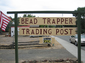 Photo: Home of the Bead Trapper --- Kin and Pam.