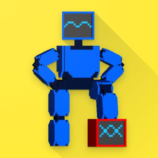 Robot Battle 1-4 player offline mutliplayer game