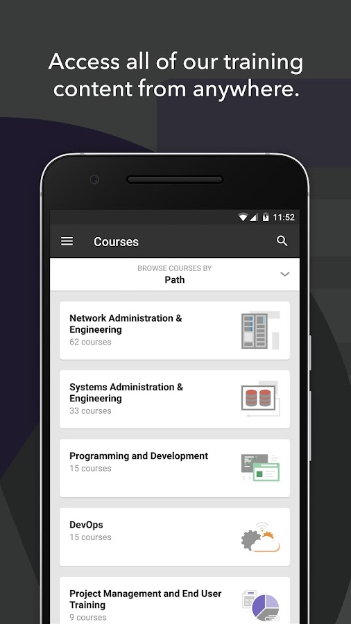 CBT Nuggets - IT Training App- screenshot