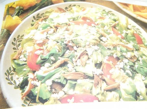 Warm Mediterranean Lamb Salad