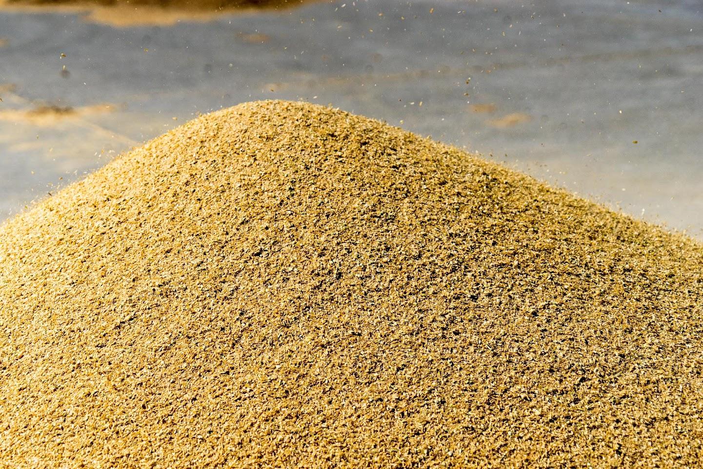 籾すり後の殻