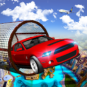 Stunt Car Racing on Extremely Impossible Track