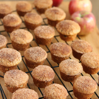 Apple Cider Donut Mini Muffins.