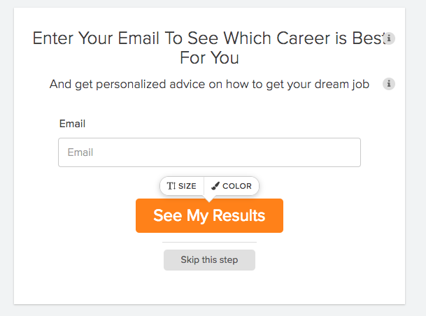 How To Make A Career Quiz