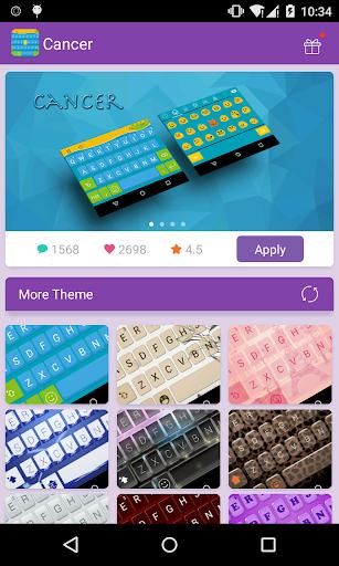 Emoji Keyboard-Cancer