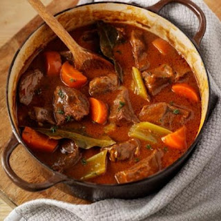 Beef & Vegetable Casserole.