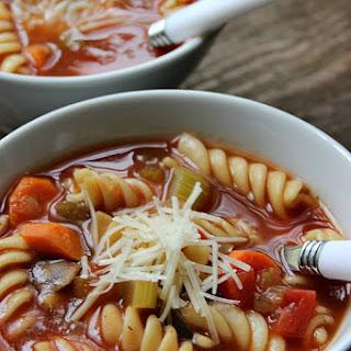 Crock Pot Vegetable Soup.