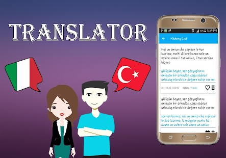 Italian To Turkish Translator - náhled