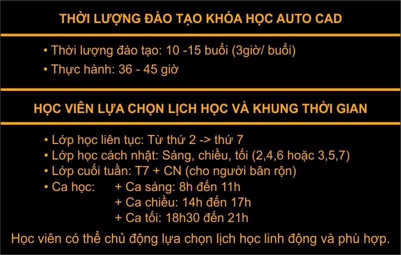 Khai giảng khóa học autocad tại Hoàng Mai Hà Nội