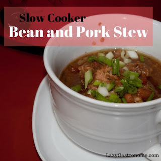 Slow Cooker Bean and Pork Stew Recipe