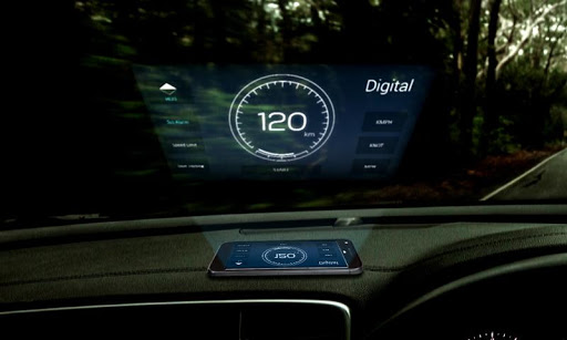 Speedometer: Car Heads Up Display GPS Odometer App 2.5 screenshots 1