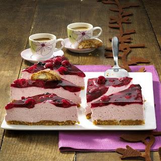 Mixed Berry No-Bake Cheesecake