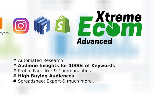 Xtreme Ecom Research Tools