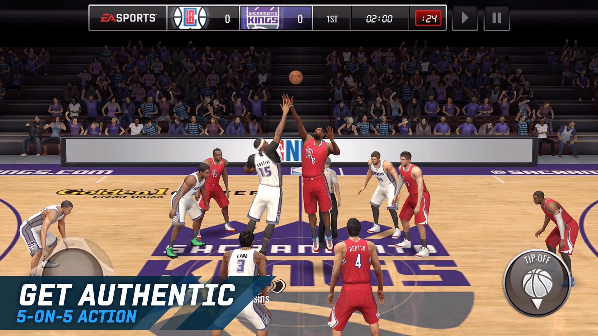 NBA LIVE Mobile Basketball screenshot #2