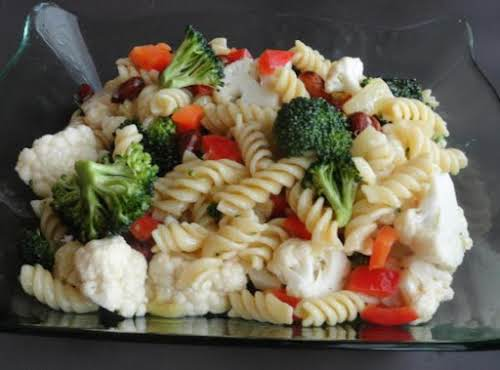 "Party Pasta Salad ""This is one of the best summer salads ever!..."