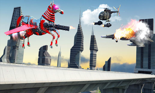 Download free US Police Multi Robot Transform: Wild Horse Games for PC on Windows and Mac apk screenshot 1