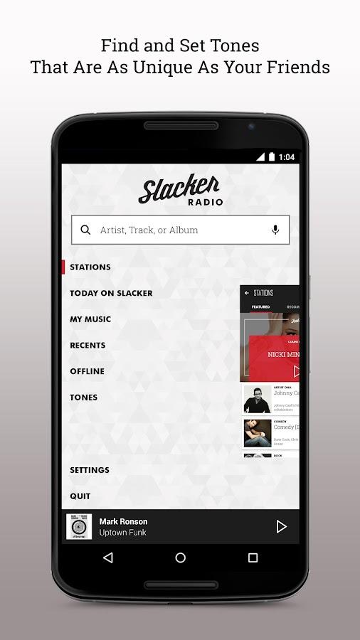 Slacker Radio - screenshot