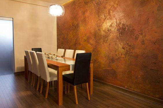 Sơn gỉ sét - Xu hướng sơn tường HOT nhất hiện nay