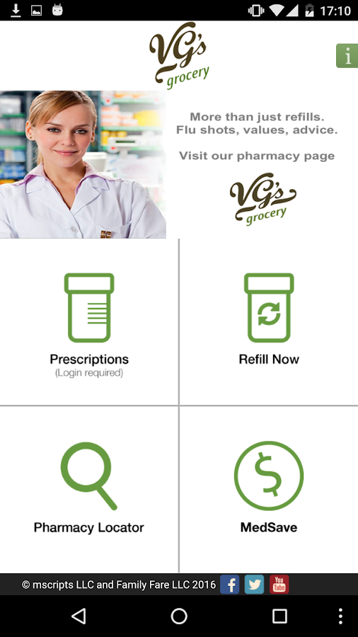 VG's Grocery Pharmacy- screenshot