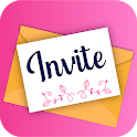 Invitation Maker Free, Paperless Card Creator icon