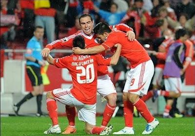 Un bien joli but pour Benfica