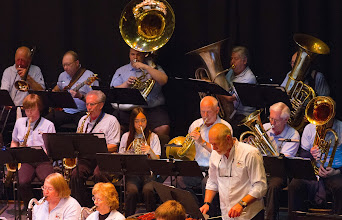 """Photo: """"They Can't Take That Away from Me"""" performed with baritone saxophone duet"""