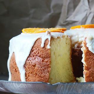 Orange Chiffon Cake.