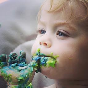 Ummmm by Leslie Hendrickson - Babies & Children Children Candids (  )
