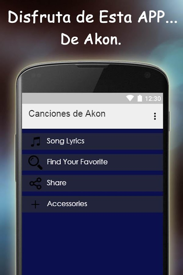 Lyric find songs by lyrics : Akon Songs and lyrics - Android Apps on Google Play