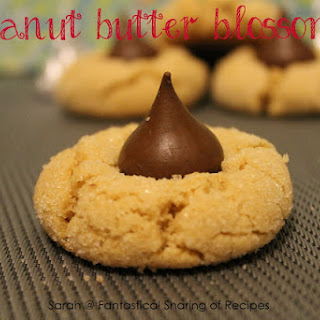Peanut Butter Blossoms.