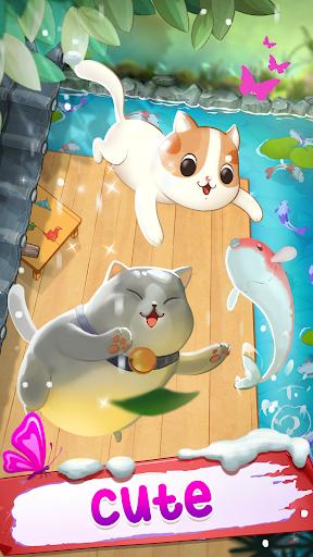 Télécharger Gratuit Merge cats - Meowaii Garden  APK MOD (Astuce) screenshots 2