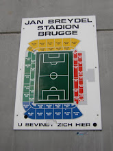 Photo: Stadium plan - Jan Breydel stadion plattegrond