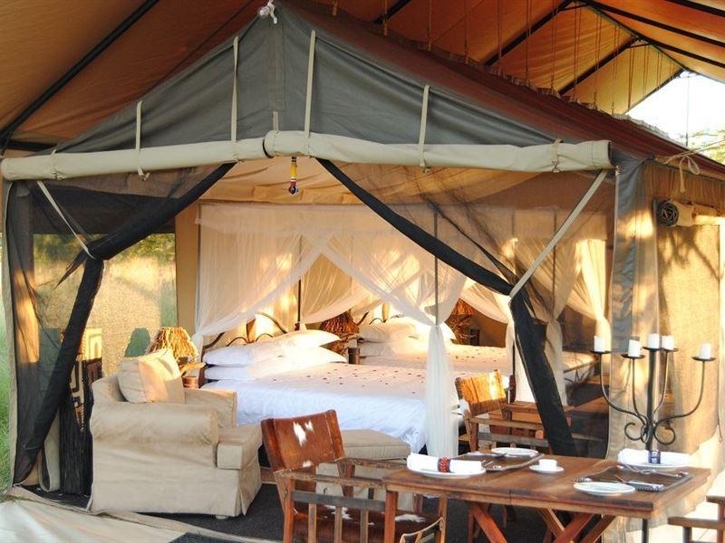 Resultado de imagen de serengeti tanzania bush camp
