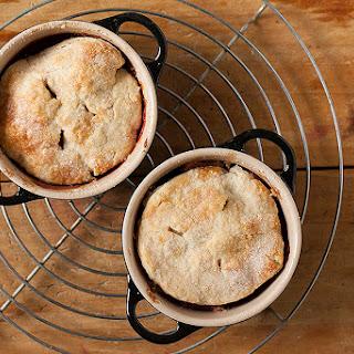 Fresh Nectarine Ramekin Pies