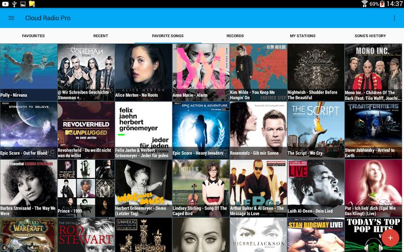 Cloud Radio Pro ( Record & Lyrics ) Screenshot 9