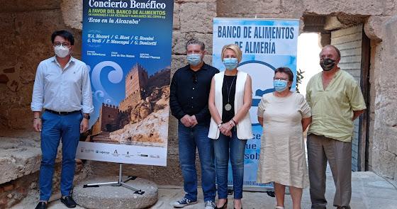 La Alcazaba acogerá el próximo domingo  un concierto benéfico de la OCAL
